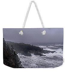 Raging Fury At Quoddy Weekender Tote Bag