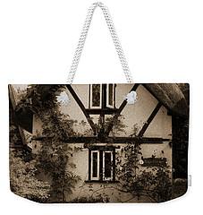 Rags Corner Cottage Nether Wallop Olde Sepia Weekender Tote Bag