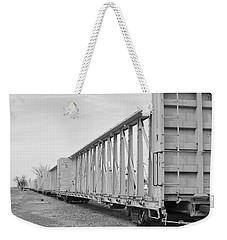 Rail Cars Weekender Tote Bag