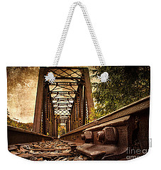 Railroad Bridge Weekender Tote Bag
