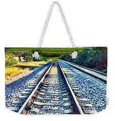 Railroad To Heaven Weekender Tote Bag