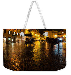 Rain Chased The Tourists Away... Weekender Tote Bag