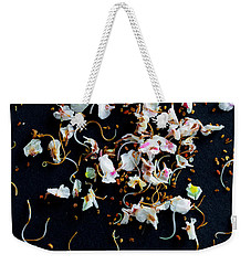 Rain Of Petals Weekender Tote Bag by Edgar Laureano