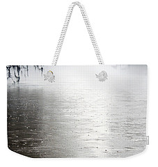 Rain On The Flint Weekender Tote Bag by Kim Pate