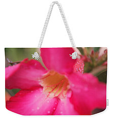 Weekender Tote Bag featuring the photograph Rain Season by Miguel Winterpacht