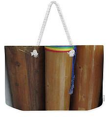 Rain Sticks Weekender Tote Bag