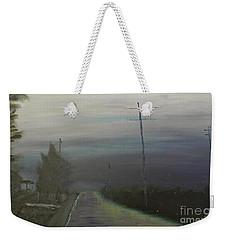 Rain Storm Weekender Tote Bag