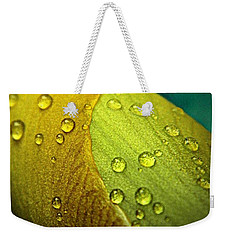 Rain Wrapped Weekender Tote Bag by Chris Berry