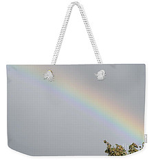 Weekender Tote Bag featuring the photograph Rainbow After The Rain by Barbara Griffin