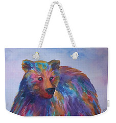 Rainbow Bear Weekender Tote Bag