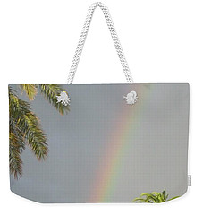 Rainbow Bermuda Weekender Tote Bag by Photographic Arts And Design Studio
