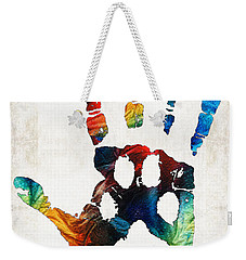 Rainbow Bridge Art - Never Forgotten - By Sharon Cummings Weekender Tote Bag