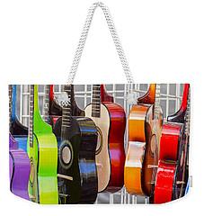Rainbow Weekender Tote Bag by Caitlyn  Grasso