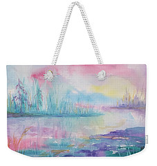 Rainbow Dawn Weekender Tote Bag