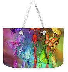 Rainbow Dreams Weekender Tote Bag