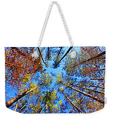 Rainbow Fall Weekender Tote Bag