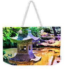 Rainbow Pagoda Weekender Tote Bag