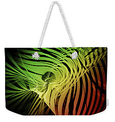 Rainbow Ribs Weekender Tote Bag