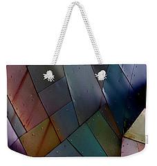 Rainbow Shingles Weekender Tote Bag
