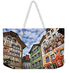 Rainbow Corner  Lucerne Weekender Tote Bag by Carol Japp