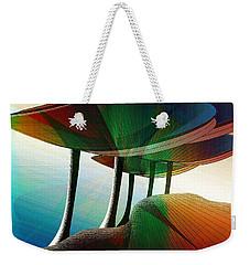 Rainbow Trees Weekender Tote Bag
