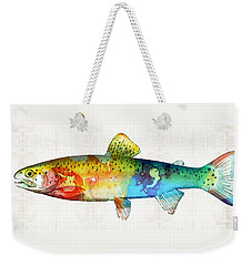 Rainbow Trout Art By Sharon Cummings Weekender Tote Bag