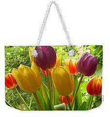 Rainbow Tulips  Weekender Tote Bag