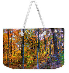 Rainbow Woods Weekender Tote Bag