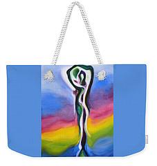 Rainbows Are Promises Weekender Tote Bag
