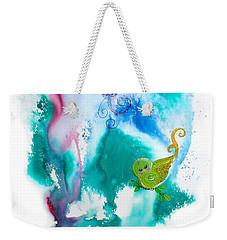 Raining Hearts Birdy Weekender Tote Bag