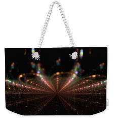 Rainy City Night Weekender Tote Bag by GJ Blackman