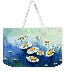 Rainy Daisies Weekender Tote Bag