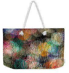 Weekender Tote Bag featuring the photograph Rainy Day Christmas by Aaron Aldrich