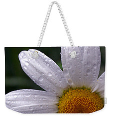 Rainy Day Daisy Weekender Tote Bag by Kevin Fortier