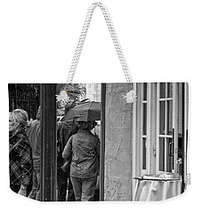 Rainy Day Lunch New Orleans Weekender Tote Bag by Kathleen K Parker