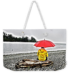 Rainy Day Meditation Weekender Tote Bag