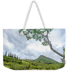 Rainy Evening On A Mountain Stream Weekender Tote Bag