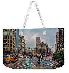 X-ing Broadway Weekender Tote Bag
