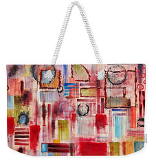 Rainy Panes Weekender Tote Bag by Jason Williamson