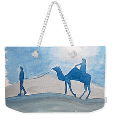 Rajasthani Blues Weekender Tote Bag