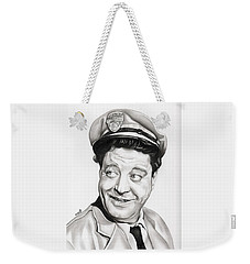 Ralph Kramden Weekender Tote Bag by Fred Larucci