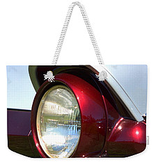 Ranch Wagon Headlight Weekender Tote Bag