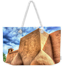 San Francesco De Asis, Rancho De Taos I Weekender Tote Bag by Lanita Williams