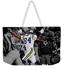 Randy Moss Weekender Tote Bag