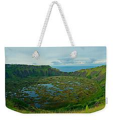 Rano Kau Kau Crater Weekender Tote Bag