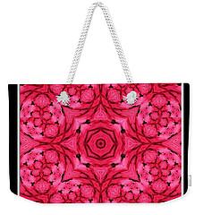 Weekender Tote Bag featuring the photograph Ranunculus Flower Warp by Rose Santuci-Sofranko