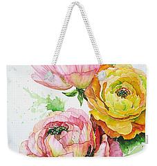 Ranunculus Flowers Weekender Tote Bag