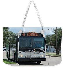 Cemeteries - Rapid Transit Authority - New Orleans La Weekender Tote Bag