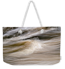 Weekender Tote Bag featuring the photograph Rapids by Marty Saccone