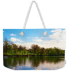 Rappahannock River I Weekender Tote Bag by Anita Lewis